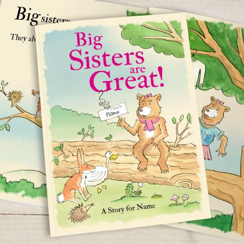 Big Sisters Are Great Softback Book